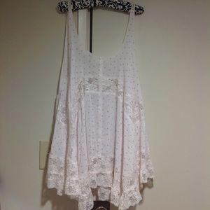 Intimately Free People lace trapeze dress M